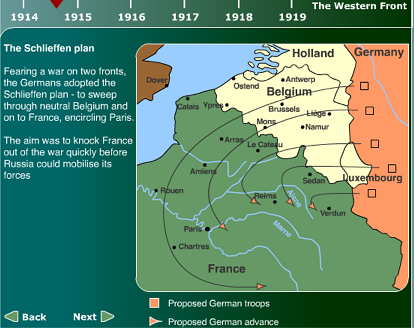 BBC slideshow of Western Front 1941-18