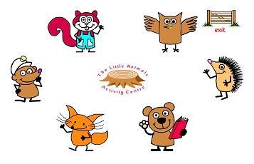 Homeschool sites little animals activity centre fandeluxe Image collections