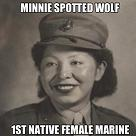Minnie Spotted Wolf, American