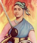 Rani Laxmi Bai of India